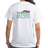 Zeeland Divers Holland White T-Shirt