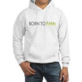 Born to EANx Nitrox Scuba Diver Hooded Sweatshirt