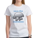 Save the Manatees Women's T-Shirt