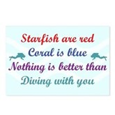 Diving with you Postcards (Package of 8)